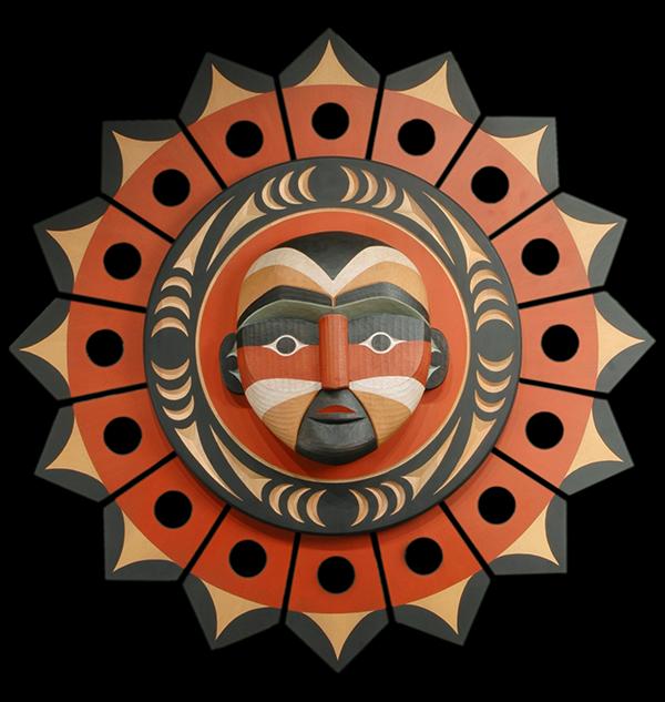 Dale Faulstich Sun Carving