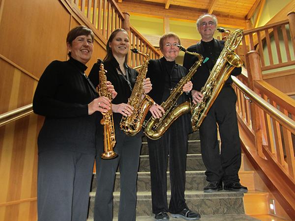 Debbi Soderstrom, soprano, Julie Gonzales, alto, Mary Lowry, tenor, Mark Condran, baritone