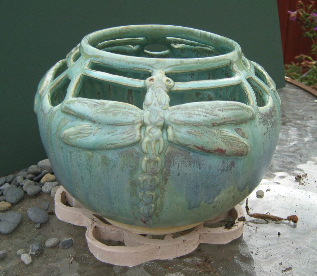 """Dragonfly bowl"" by Carol Janda"
