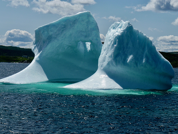 """Iceberg Near St. Anthony Bight"" by Genny Langworthy"