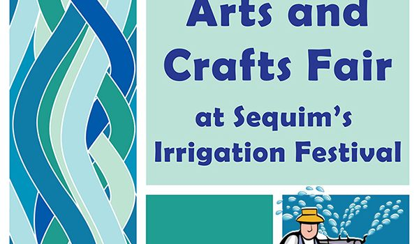 Aqua Themed May 6 First Friday Art Walk Sequim Celebrates Cultivation, Culture, and Sequim's Irrigation Festival