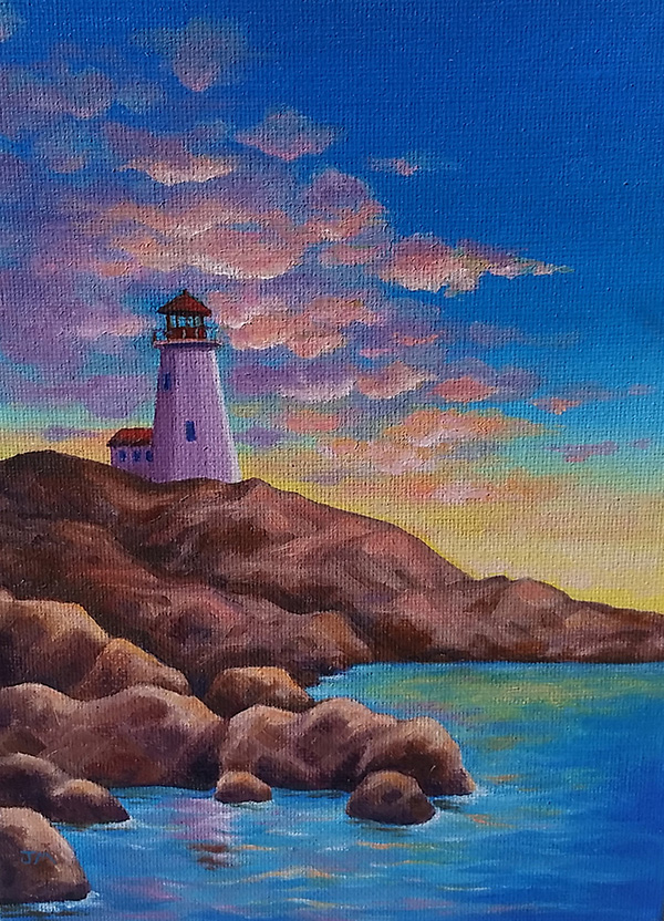 """Lighthouse"" by Jerri Moore"