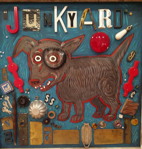 """Junkyard Dog"" by Claude Manning"