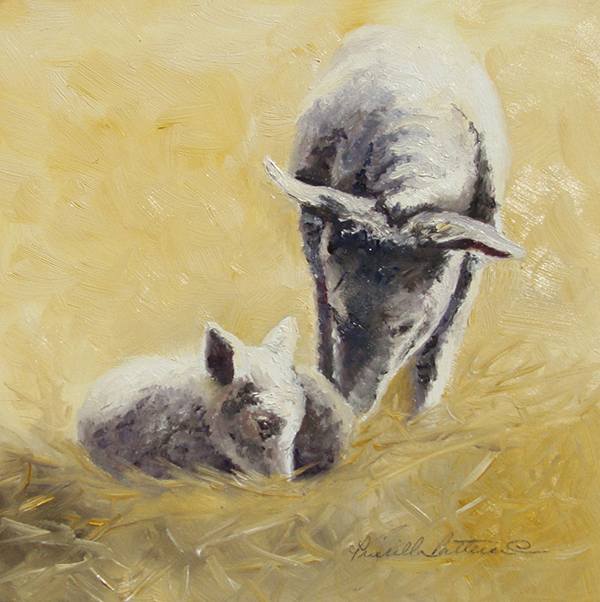 """Little Lamb"" by Priscilla Patterson"