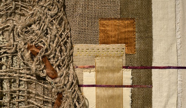 Celebrate Fiber Art and Fall for October 2 First Friday Art Walk with Orange Color Theme