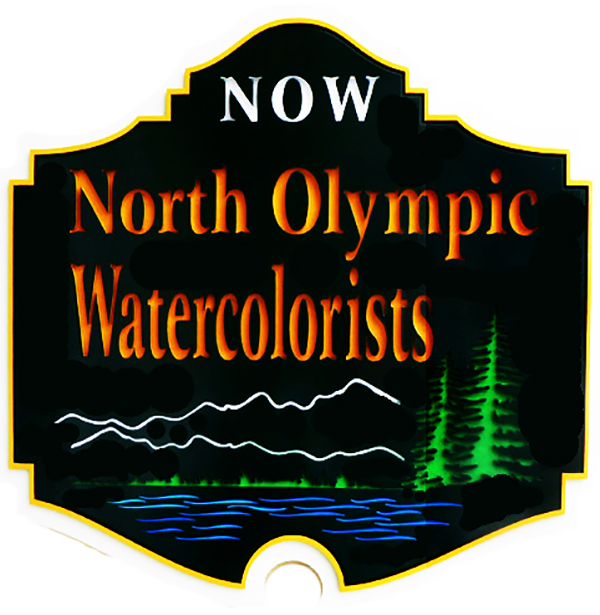 North Olympic Watercolorists logo