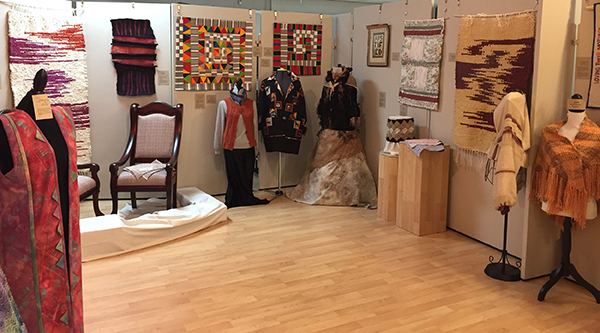 """Transformative Style"" fiber arts exhibition at the Sequim Museum."