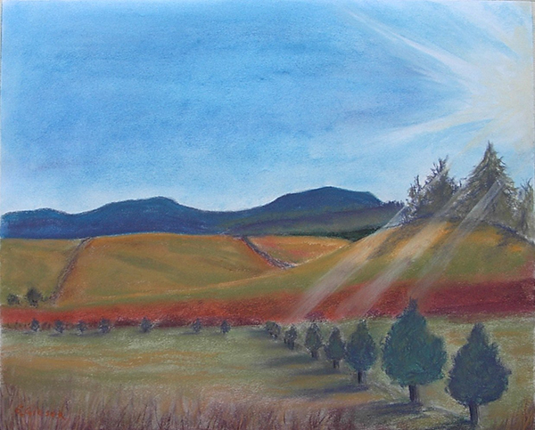 """Wine Country"" by Eileen Gieser"