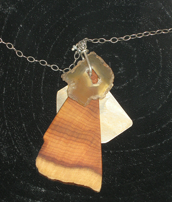 Yew Necklace by Janine Hegy