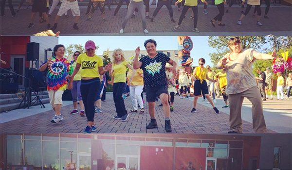 Zumba Flash Mob at Sequim Civic Center