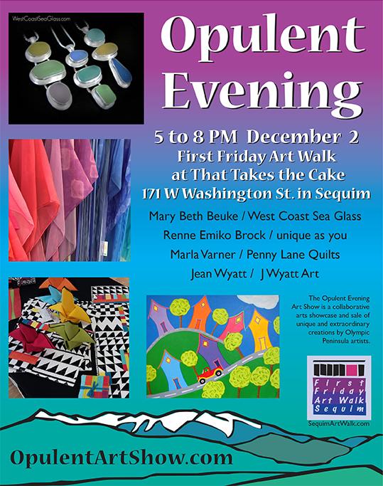 Opulent Evening Art Show