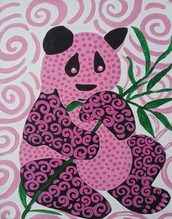 """Pink Panda"" by Tami Wall"
