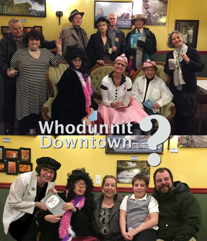 2018 whodunnit downtown suspects and winners