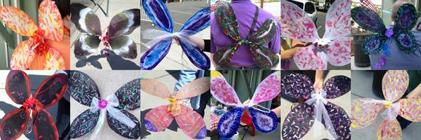 """Wing It On!"" Fairy Wing Workshop"