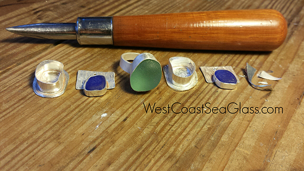At West Coast Sea Glass Studio by Mary Beth Beuke
