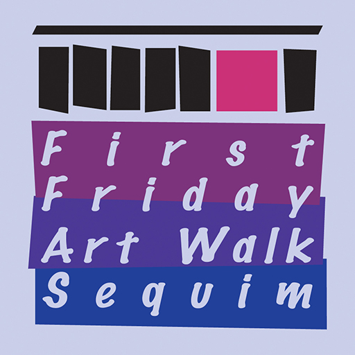 First Friday Art Walk Sequim Logo
